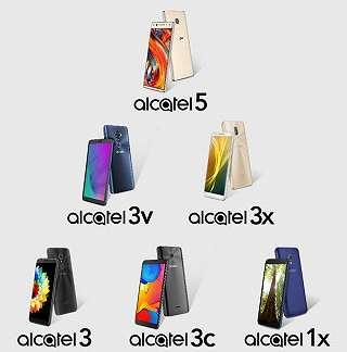Alcatel Siapkan 6 Smartphone Baru untuk Tahun 2018 Mendatang