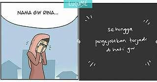 Komik Lucu 'Rina Lepas Hijab' Ini Kocaknya Nggak Ketebak Banget