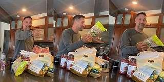 Viral, Video Hot Daddy Belanja Makanan Bikin Netizen Gagal Fokus