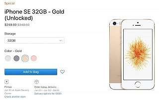 Cuci Gudang, Apple Jual iPhone SE dengan Harga Super Murah