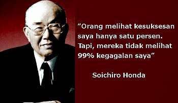 Kisah Soichiro Honda, Sukses Setelah Gagal Berulang Kali