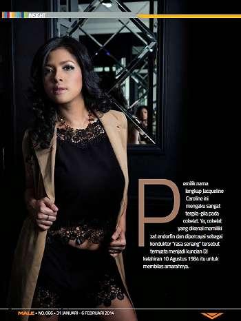 Koleksi Foto Dj Jacqueline Di Insight Majalah Male