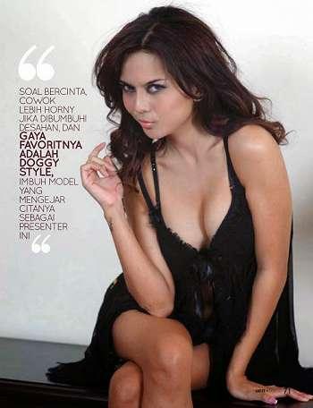 Koleksi Foto Galeri Foto Anggita Sari Di Majalah Gress