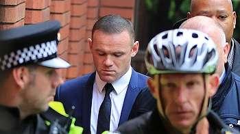 Terbukti mabuk, Wayne Rooney dilarang menyetir dua tahun