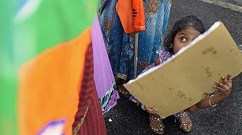 Korban pemerkosaan berusia 10 tahun di India diizinkan aborsi