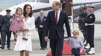 Kate, istri Pangeran William mengandung anak ketiga