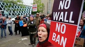 Lagi, larangan perjalanan Trump bagi warga Muslim ditolak pengadilan