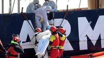 Lebih dari 200 migran diduga meninggal dunia di Laut Mediterania