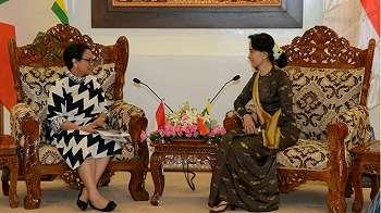 Menlu RI serahkan formula, pelapor khusus PBB dan Malala kritik Suu Kyi
