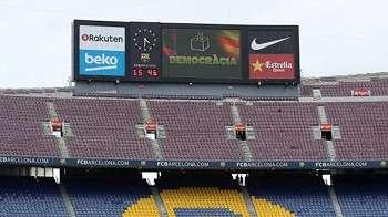 Barcelona menang atas Las Pasmas dalam pertandingan tanpa penonton