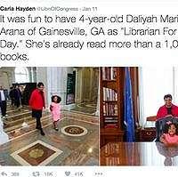 Di Usia 4 Tahun Bocah Ini Telah Baca 1.000 Buku