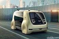 Mobil Masa Depan VW Tanpa Setir, Pedal dan Kokpit