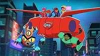 Kota Gabungan San Francisco dan Jepang Jadi Latar 'Big Hero 6 The Series'