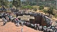 Gereja Unik di Ethiopia: Jemaatnya Bersorban & Berkerudung