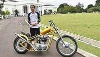 Jokowi Mau Jajal Motor Chopper di Jalan Trans Kalimantan