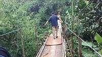 Jembatan 'Mengerikan' di Jagakarsa akan Dibangun Pekan Depan