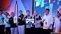 Ini Nomor Urut 4 Pasangan di Pilwalkot Bogor 2018