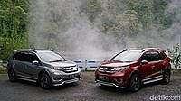 Digoyang Rush-Terios, Honda Mulai Panas, Siapkan Wajah Baru BR-V