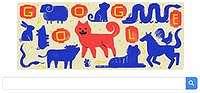 Shio Anjing Hiasi Imlek ala Google Doodle