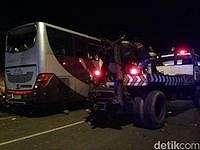 Sopir Bus Maut Tanjakan Emen Luka Ringan, Dirawat di Klinik Polres