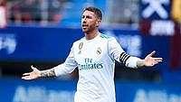 Momen 10 Orang Madrid vs Eibar karena Ramos Dapat 'Panggilan Alam'