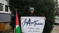 Jalan Kaki Demi Palestina, Traveler Swedia Ini Punya Pesan untuk Dunia