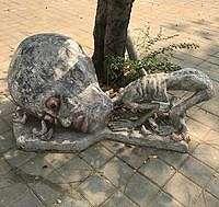Candi di Thailand Punya Patung Siksaan Neraka, Bentuknya Parah