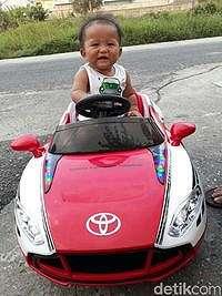 Bayi Diberi Nama 'Toyota Fortuner Tangguh', Ini Maknanya