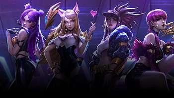 Idol Fiktif    League of Legends Puncaki Tangga Lagu Digital Billboard
