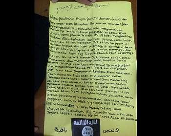 Pasang Bendera di Kantor Polisi, ISIS Mau Buat Jakarta Seperti Marawi