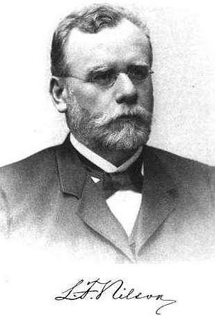 Profil Lars Fredrik Nilson - Penemu Skandium