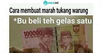 8 Meme 'Pakai Uang' Ini Kocaknya Bikin Mata Lo Ijo
