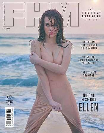 Ellen Adarna Best Hot Fhm Magz Philippines December 2016