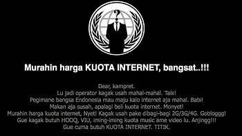 Situsnya Diretas Karena Tarif Internet Mahal, Ini Kata Telkomsel