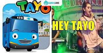 Lagu 'Hey Tayo' Versi Dangdut Koplo Ini Bikin Ngakak Campur Auto Joget