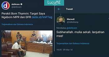 Ada Teroris Nargetin Ngebom MPR-DPR, 15 Komentar Dukungan Warganet Ini Bikin Ngakak!