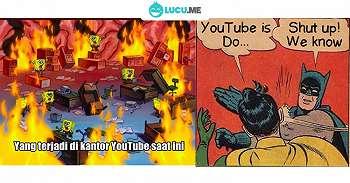 10 Meme 'Youtube Tumbang' Ini Kocaknya Malah Bikin Kesel