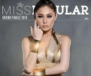 Koleksi Foto Foto Gisva Lee Miss Grand Finale Popular World Tahun 2016