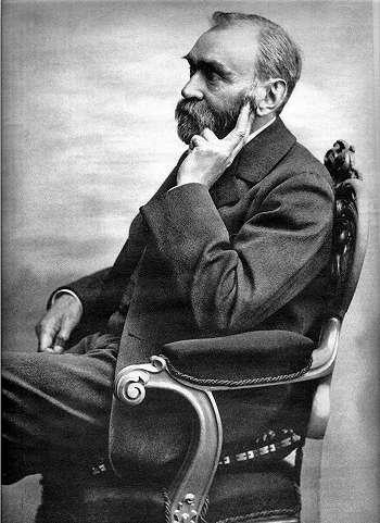 Penemu Dinamit dan Pemrakarsa Hadiah Nobel - Alfred Nobel