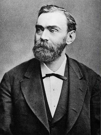 Penemu Dinamit - Alfred Bernhard Nobel