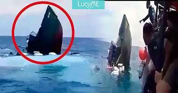 Kapal TNI Ini Tenggelam Saat Angkut Para Dokter, Videonya Viral