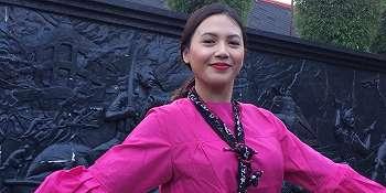 Penyanyi Jazz Diah Ayu Lestari Kenalkan Budaya Indonesia ke Luar Negeri