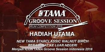 Tama Groove Session 2018, Kontes Drum Online Paling Prestisius di Indonesia