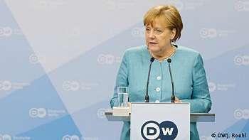 Kanselir Jerman Angela Merkel Sebut Deutsche Welle 'Sebuah Kisah Sukses'