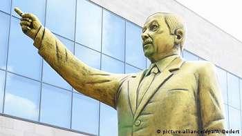 Timbulkan Pertikaian, Patung Erdogan di Kota Wiesbaden Disingkirkan