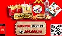Heboh! Iming-iming Voucher McDonald's di WhatsApp