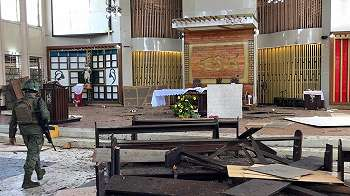 'Pasangan suami istri Indonesia' disebut sebagai pelaku bom bunuh diri serangan gereja di Jolo, Filipina