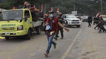 Gunung Fuego di Guatemala meletus lagi, evakuasi digencarkan