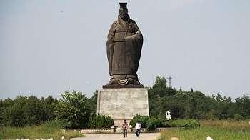 'Wajah' kaisar pertama Cina jadi rata karena terjerembab angin