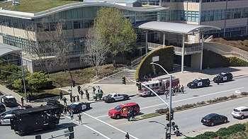 Penembakan di kantor pusat You Tube, empat cedera dan tersangka tewas